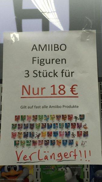 [LOKAL] 3 amiibo Figuren für 18€ @ Expert Friedrichsdorf