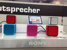 Lokal? Saturn Do-Eving Sony SRS-X Bluetooth Lautsprecher 35 Euro