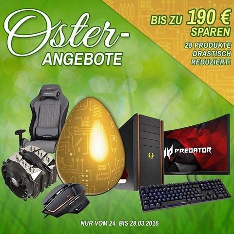 PC Hardware Osterangebote [Caseking Berlin] - Rabatte