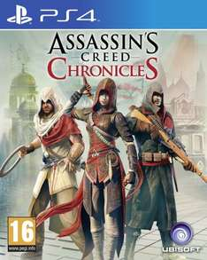 [amazon.co.uk] Assassin's Creed Chronicles [PS4] für 23,69€ inkl. Versand