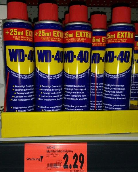 WD-40 Spray 25% mehr für 2,29€ Kaufland Gropius Passagen (Lokal?)