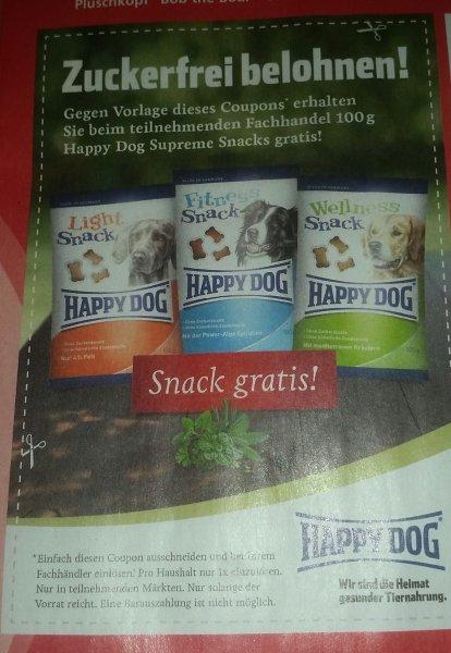 Packbier Aachen 100 gr Zuckerfreier Hundesnack von Happy Dog Supreme