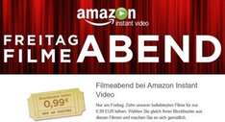 Es ist wieder Freitag !  [Amazon Instant Video] Freitag Filmeabend - 10 Filme zu je 99 Cent leihen in HD / SD