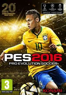 [Gamesplanet UK] Pro Evolution Soccer 2016 PC - 17,07€