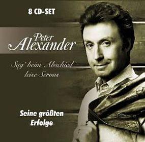 """8-CD Set PETER ALEXANDER """"""""Sag' beim Abschied leise Servus: Seine größten Erfolge"""" für EUR 8,99 € """"Zweitausendeins"""" erhältlich (Aktionspreis)!"""