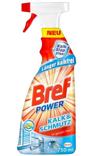 [Amazon Prime] 5,23€ Bref Power gegen Kalk und Schmutz, 4er Pack (4 x 750 ml), 51% günstiger