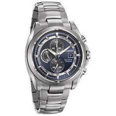 [Amazon.co.uk] Citizen Eco-Drive Titanium Chronograph CA0550-87L für 174,68 €