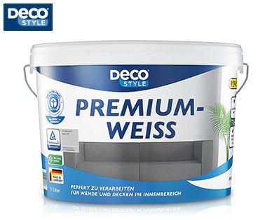[ALDI SÜD] DECO STYLE® 11l Premiumweiß für 11,99