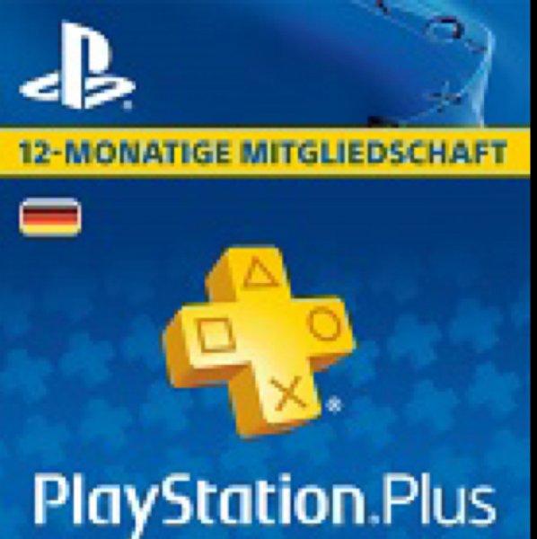 [Gameladen] PlayStation Plus 365-Tage Mitgliedschaft PS4 40,84 mit Gutschein