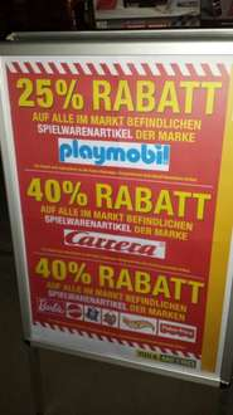 40% auf Carrera-Bestands-Ware bei der Metro in Friedrichshain(z.B. Carrera 132 CC für 107,10€)