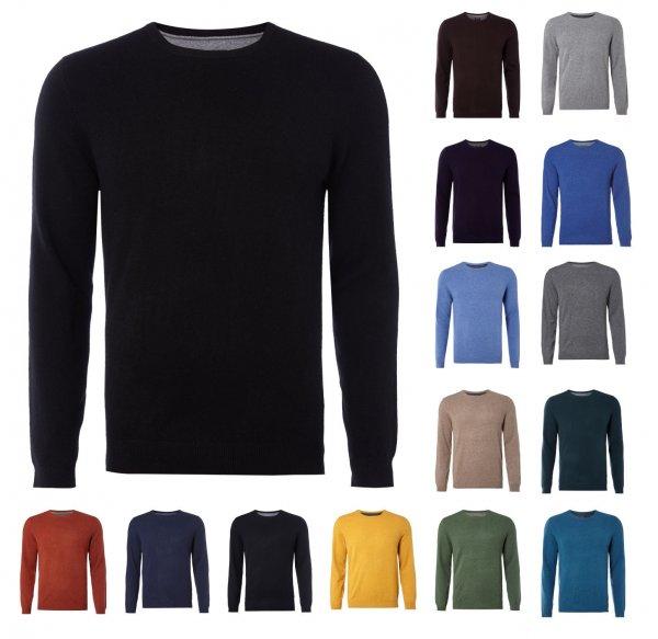 "McNeal Merino Kashmir Mix Herren Pullover 10 Farben, 28€ oder 25€ wenn man 3 kauft. Inner Circle Outlet ebay 20% Coupon ""CMARKEN16"""