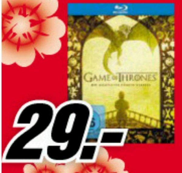 [Mediamarkt][Siegen] Game Of Thrones Staffel 5 Blu-ray für 29 EUR