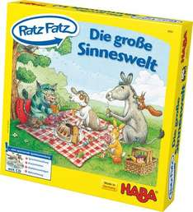[Amazon Prime] HABA Kinderspiel Ratz Fatz Die große Sinneswelt (4684) für 14,93€ statt 20,43€ (Update)