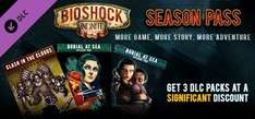 (Steam) BioShock Infinite - Season Pass für 4,25€ @ macgamestore
