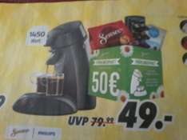 Senseo Kaffee-Padautomat HD7817/65   + 50€ Frühlingspaket  bei MEDIMAX und Expendables Triologie Blu-ray  für 16,99€