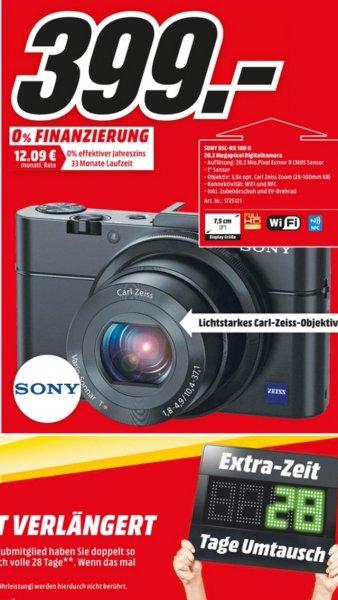 [Lokal MM Frankfurt] SONY DSC-RX 100 - II Digitalkamera für 399 €