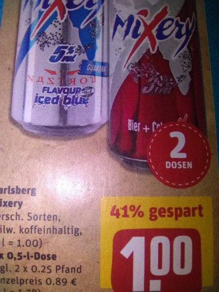 [Rewe] Karlsberg Mixery 2 Dosen für 1€ + Pfand