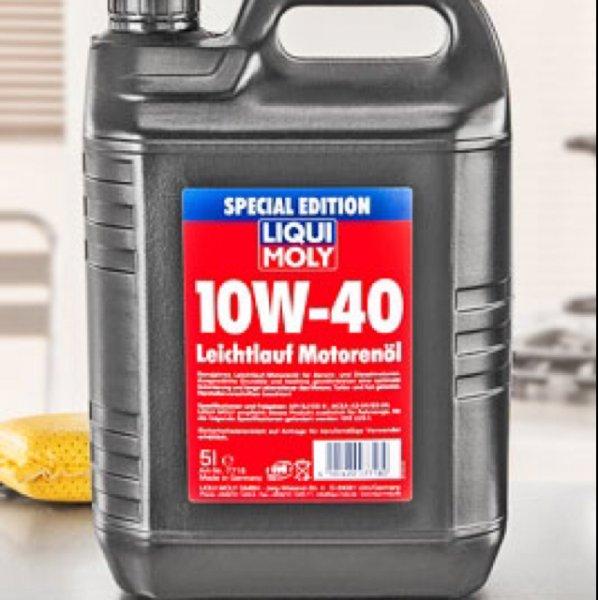 14,99€ Liqui Moly Leichtlauf-Motorenöl 10W-40 5L Kanister [Kaufland] ab Mo. 04.04