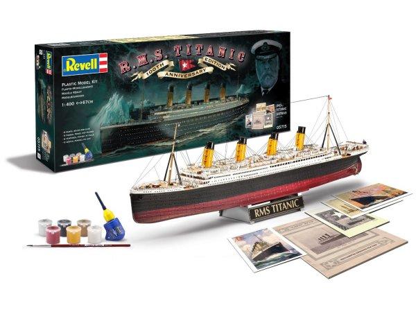 """Revell 05715 Geschenkset Schiffsmodell """"100 Jahre Titanic"""" Bausatz inkl.Vsk für 18,19 € > [amazon.uk] > Frohe Ostern"""