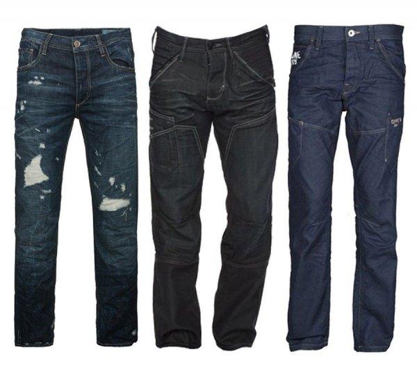 Jack & Jones Jeans versch. Modelle für 9,99 € statt 59,95 €