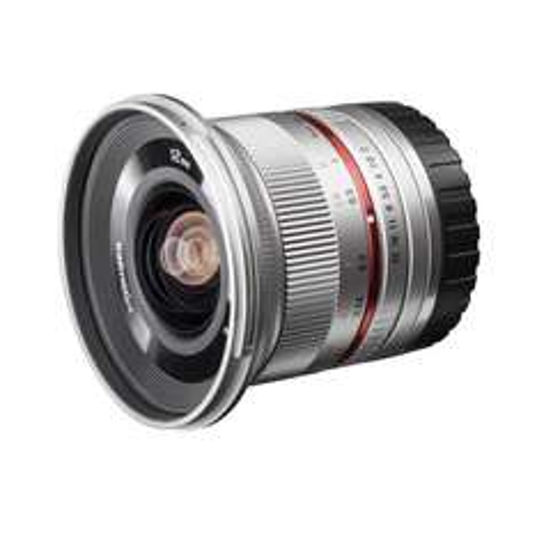 [amazon.it] Walimex Pro 12 mm F2 für Fuji X silber