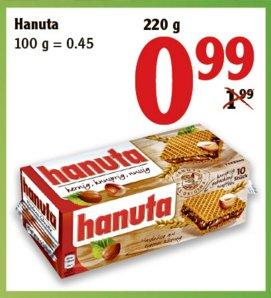 [NEUTRAUBLING] Hanuta für 0,99€ im Globus am verkaufsoffenen Sonntag 03.04.2016 (13-18 Uhr)