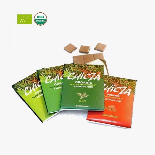 3 Packschen Bio Kaugummi für 1€