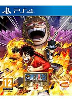 [base.com] One Piece Pirate Warriors 3 [PS4] für 29,44€ inkl. Versand