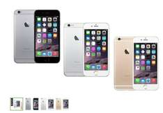 Apple iPhone 6 16 GB oder 64 GB refurbished in Gold, Silber oder Spacegrau inkl. Versand  bei Groupon