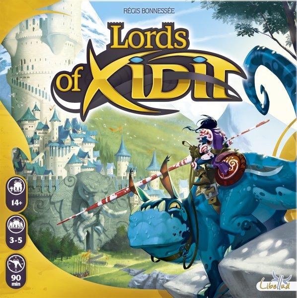 Lords of Xidit - Brettspiel