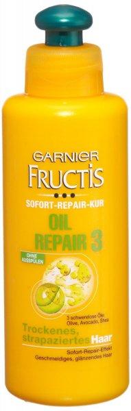 Garnier Fructis Kur Oil Repair Sofort-Repair-Kur, 3er Pack (3 x 200 ml)-Amazon Plus Produkt 3,75 Euro