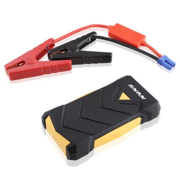 @AMAZON SNAN Auto Starthilfe Batterie Ladegerät 12000mAh mit 400A Spitzenstrom, Dual USB Anschluss, eingebaute LED Taschenlampe - 49,99€ anstatt 79,99€