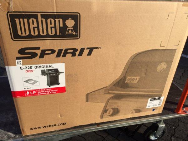 [Bauhaus Mainz TPG] Weber Spirit 320 GBS