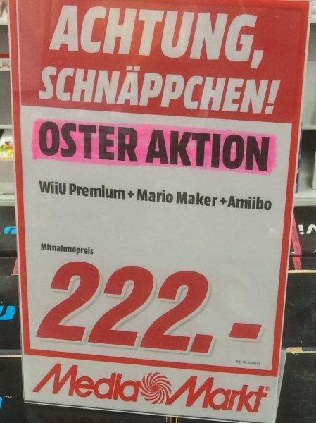 (Lokal) MM Hildesheim Wii U Premium Pack Mario Maker 222 EUR