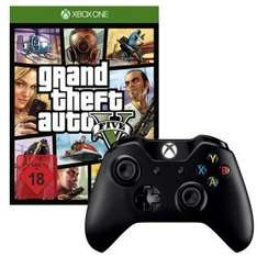 Grand Theft Auto 5 + Xbox One Wireless Controller für 72€