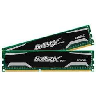 [Vibu Online / Mindfactory] Crucial Ballistix Sport DIMM Kit 8GB (DDR3-1600, CL9-9-9-24, 2x 4GB) für 26,42€