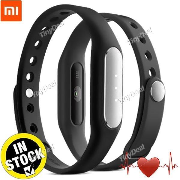 Original Xiaomi MiBand 1S (Einfaches Paket!) Smart Armband Herzfrequenz Monitor Schlaf Monitor Anruf SMS Erinnerung