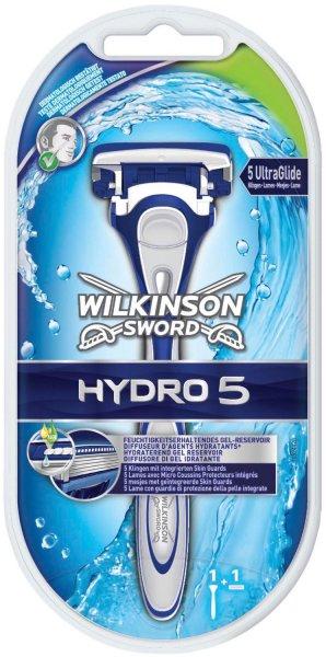 Wilkinson Sword Hydro 5 Rasierapparat mit 1 Klinge@Amazon mit Buchtrick 2.0