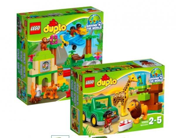 [Galeria Kaufhof] Mondschein Angebote 20% auf Lego Duplo (ua) z.B. Bundle Duplo® Wildlife Set Dschungel 10804 & Savanne 10802 für 39,99€ bei Filiallieferung statt 61€
