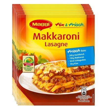 [DARMSTADT] REAL: 10x Maggi Fix & Frisch Makkaroni Lasagne für 0,00€ (MHD+Coupon)