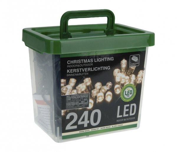 [Amazon] 5m Lichterkette, 240 LEDs warm weiß, Innen- und Außenbereich (IP44), 8 Lichteffektefür 6,29€ statt 32,95€ inkl. Versand