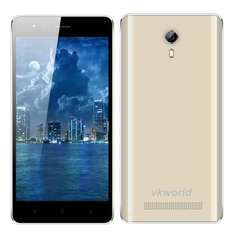 VKWORLD F1 MTK6580 1.3GHz Quad Core 4.5 Zoll IPS FWVGA Bildschirm Android 5.1 3G Smartphone