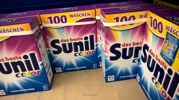 [lokal] Metro Düsseldorf SUNIL Vollwaschmittel/Colorwaschmittel 6,8kg (100 Wäschen) für nur 5,95€