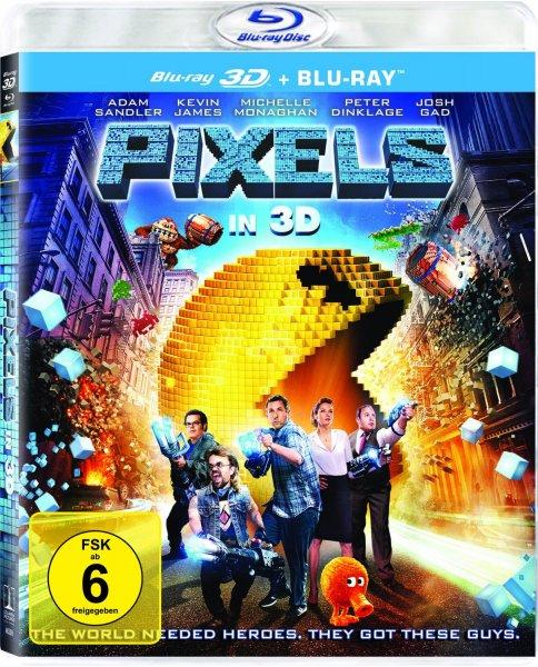 [Amazon-Prime] Pixels (3D Version (2 Disc) ) [3D Blu-ray]