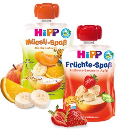 [ABGELAUFEN] [EDEKA] 5x Hipp Früchte-Spaß mit 1,20€ Gewinn (DC-Aktion + Coupon)
