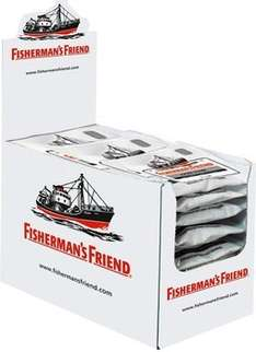 Fishermans Friend (versch. Sorten) zum Aktionspreis von 15,99 € bei Amazon