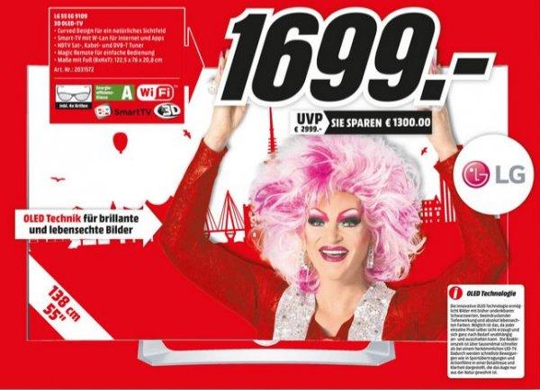 [MediaMarkt Hamburg] LG 55EG9109 für 1699€