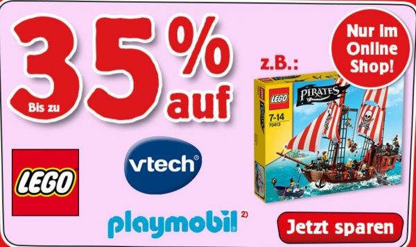 ABGELAUFEN [Galeria]  Spiele Max ONLINE-SHOP] Bis zu 35% auf Lego, Vtech und Playmobil! Z.b  Lego PIRATES 70413 Großes Piratenschiff für 79.99€ (+ Versand 2.95€ oder kostenlos in die Filiale liefern lassen)idealo Preis fängt bei 89.99€+4.95€ Versand!