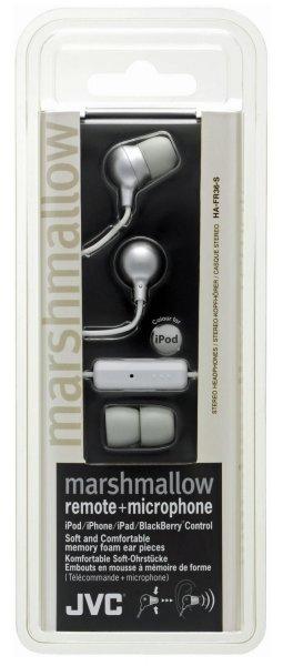 "JVC™ - In-Ear Kopfhörer ""HA FR36-S"" (Silber,inkl.Mikrofon+FB) für €5,90 [@Null.de]"