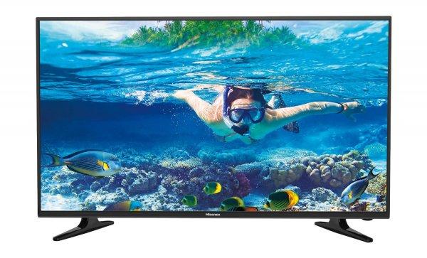 Hisense LHD32D50 80 cm (32 Zoll) Fernseher (HD Ready, Triple Tuner) [Energieklasse A] für 179,99 EUR inkl. Versand